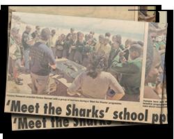 Meet the Sharks' school program