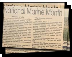 National Marine Month